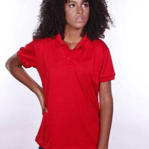 camisa-polo-para-empresa-poliester-feminina-vermelha-detalhe