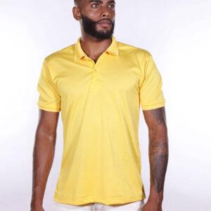 camisa-polo-para-empresa-poliester-masculina-amarela-detalhe