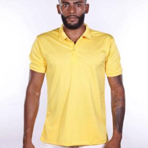 camisa-polo-para-empresa-poliester-masculina-amarela-frente