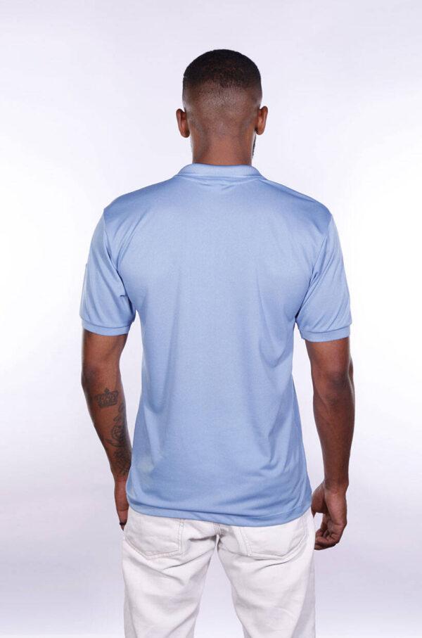 camisa-polo-para-empresa-poliester-masculina-azul-celeste-costas