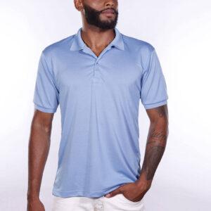 camisa-polo-para-empresa-poliester-masculina-azul-celeste-detalhe