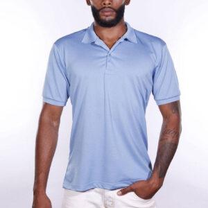 camisa-polo-para-empresa-poliester-masculina-azul-celeste-frente