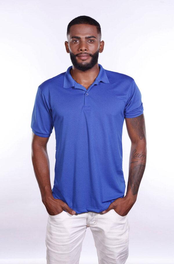 camisa-polo-para-empresa-poliester-masculina-azul-royal-frente