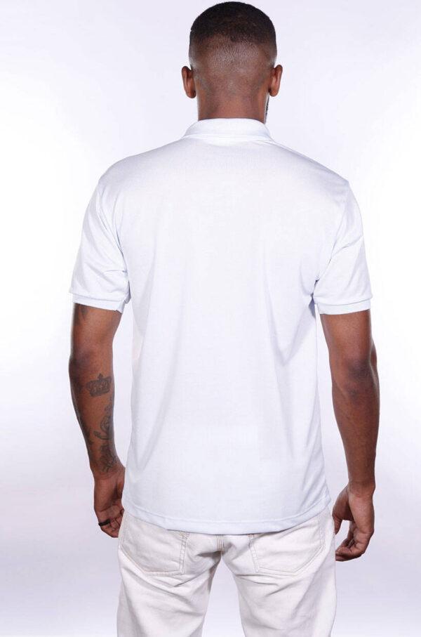 camisa-polo-para-empresa-poliester-masculina-branca-costas