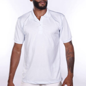 camisa-polo-para-empresa-poliester-masculina-branca-detalhe