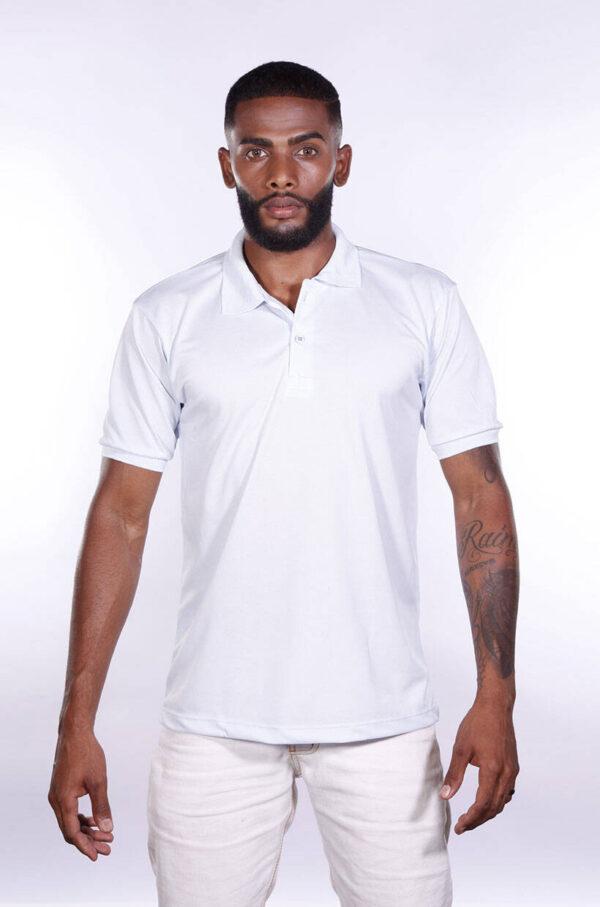 camisa-polo-para-empresa-poliester-masculina-branca-frente