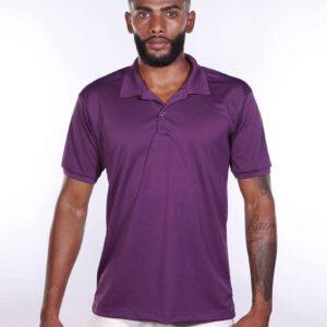 camisa-polo-para-empresa-poliester-masculina-roxa-frente