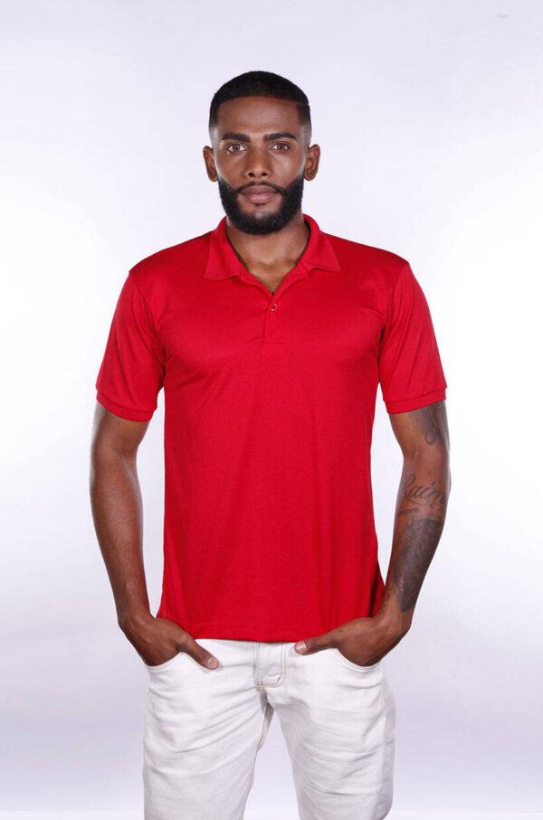 camisa-polo-para-empresa-poliester-masculina-vermelha-frente