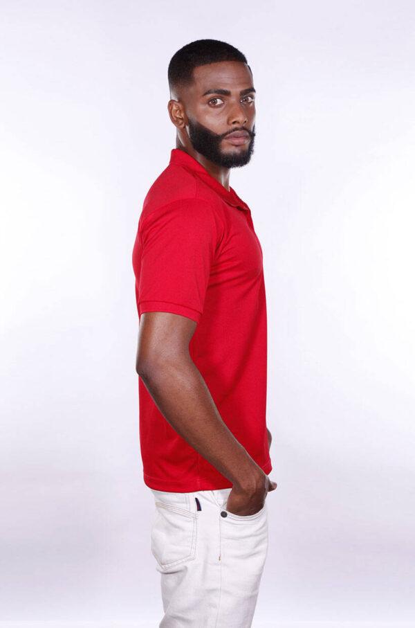 camisa-polo-para-empresa-poliester-masculina-vermelha-lado-2