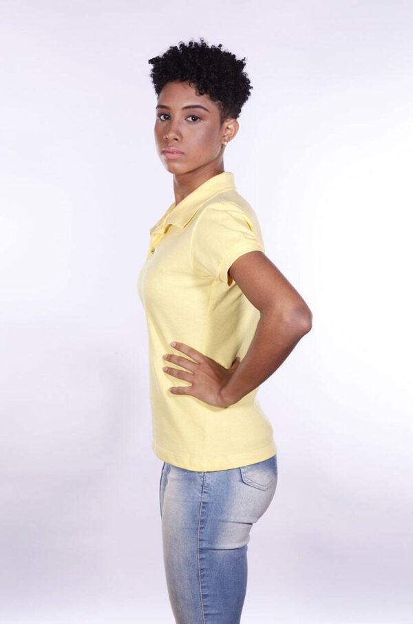 camisa-polo-para-empresa-ecoline-feminina-amarela-clara-lado-2