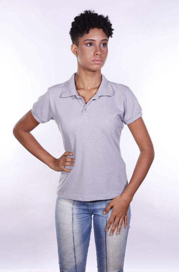 camisa-polo-para-empresa-ecoline-feminina-cinza-detalhe