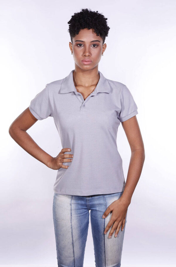 camisa-polo-para-empresa-ecoline-feminina-cinza-frente