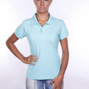 camisa-polo-para-empresa-ecoline-feminina-turquesa-frente