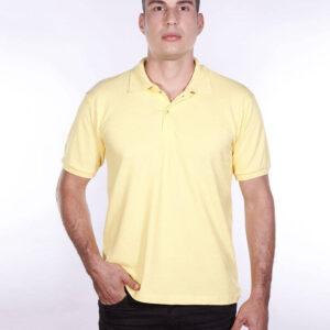 camisa-polo-para-empresa-ecoline-masculina-amarela-clara-frente