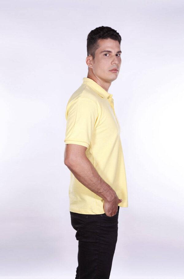 camisa-polo-para-empresa-ecoline-masculina-amarela-clara-lado-2