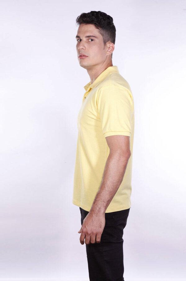 camisa-polo-para-empresa-ecoline-masculina-amarela-clara-lado