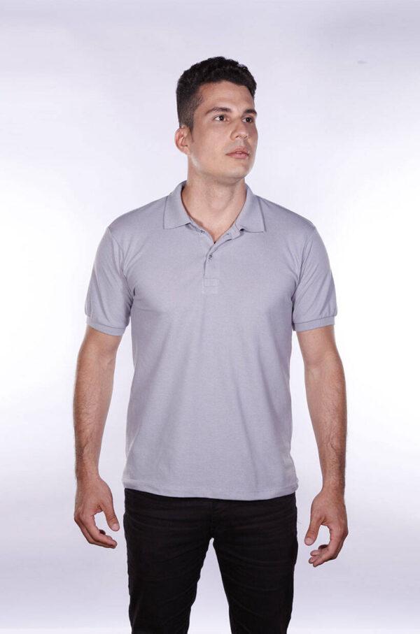 camisa-polo-para-empresa-ecoline-masculina-cinza-detalhe