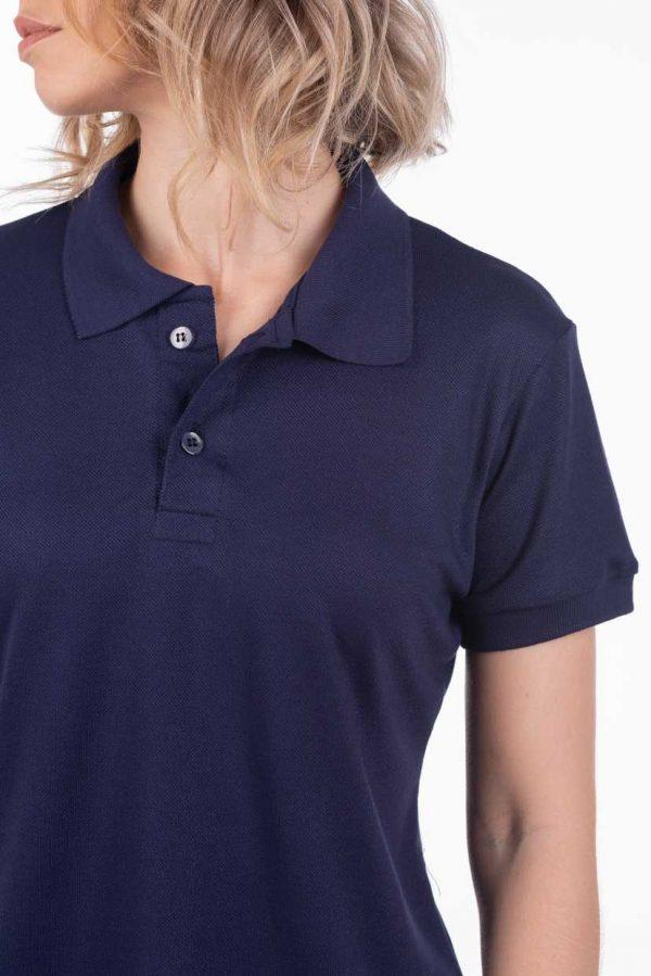 camisa-polo-para-empresa-viscocel-feminina-marinho-detalhe