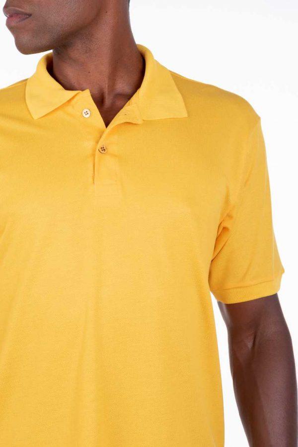 camisa-polo-para-empresa-viscocel-masculina-amarela-detalhe