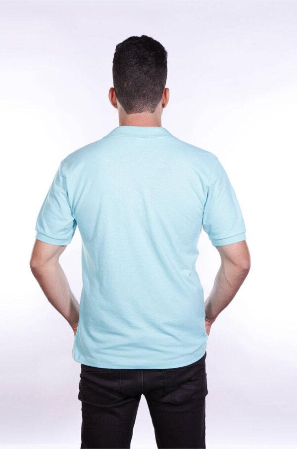 camisa-polo-para-empresa-ecoline-masculina-turquesa-costas