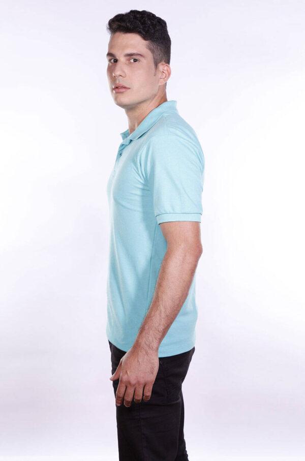 camisa-polo-para-empresa-ecoline-masculina-turquesa-lado