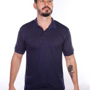 camisa-polo-para-empresa-classica-masculina-azul-marinho-detalhe