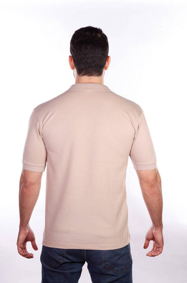 camisa-polo-para-empresa-classica-masculina-caqui-costas