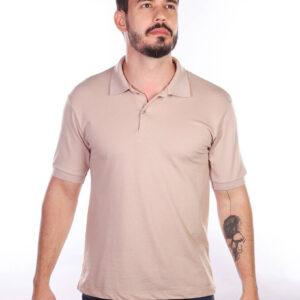 camisa-polo-para-empresa-classica-masculina-caqui-detalhe