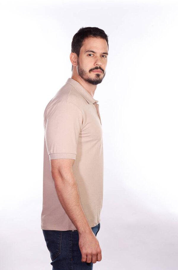 camisa-polo-para-empresa-classica-masculina-caqui-lado-2