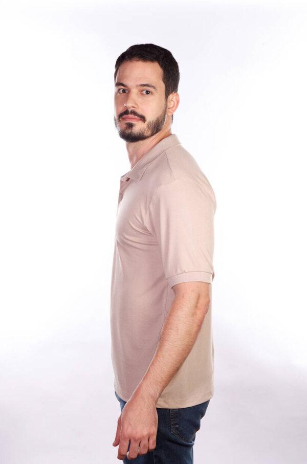 camisa-polo-para-empresa-classica-masculina-caqui-lado