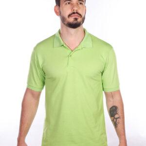 camisa-polo-para-empresa-classica-masculina-verde-limao-detalhe