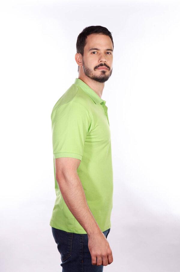 camisa-polo-para-empresa-classica-masculina-verde-limao-lado-2