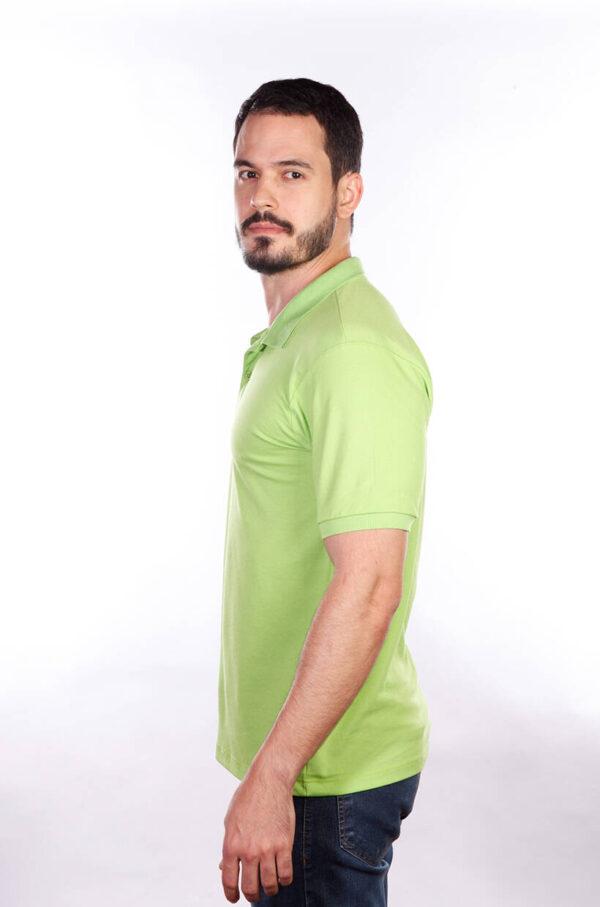 camisa-polo-para-empresa-classica-masculina-verde-limao-lado