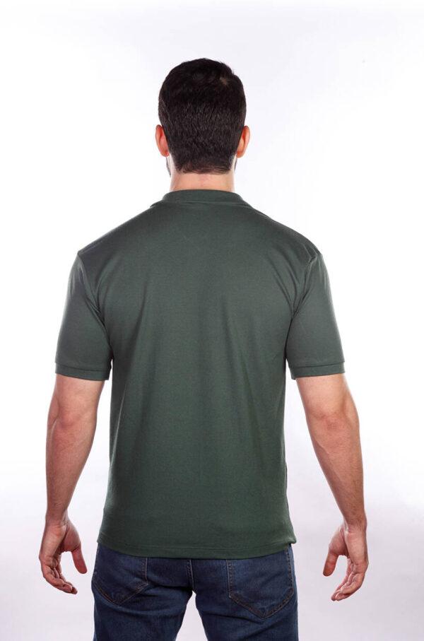 camisa-polo-para-empresa-masculina-verde-musgo-costas