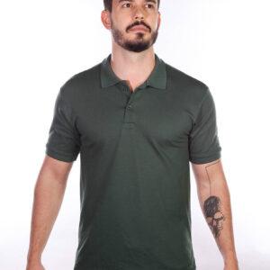 camisa-polo-para-empresa-masculina-verde-musgo-detalhe