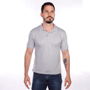camisa-polo-para-empresa-classica-masculina-cinza-detalhe
