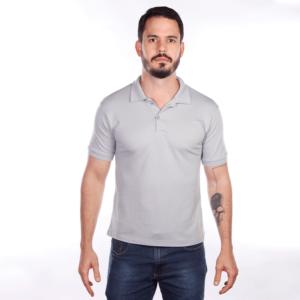 camisa-polo-para-empresa-classica-masculina-cinza-frente